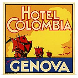 Print Collection Poster Print entitled Hotel Colombia, Genova