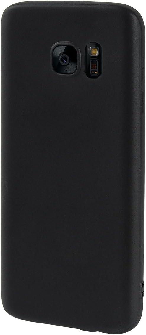 Olliwon Funda Samsung Galaxy S6 Edge, Ultra Slim Silicona TPU Carcasa Anti-Arañazos y Antideslizante 360 Cover Case para Samsung Galaxy S6 Edge Nergo
