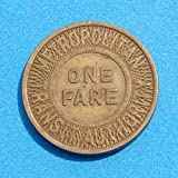 Transit Authority One Fare Token - Boston