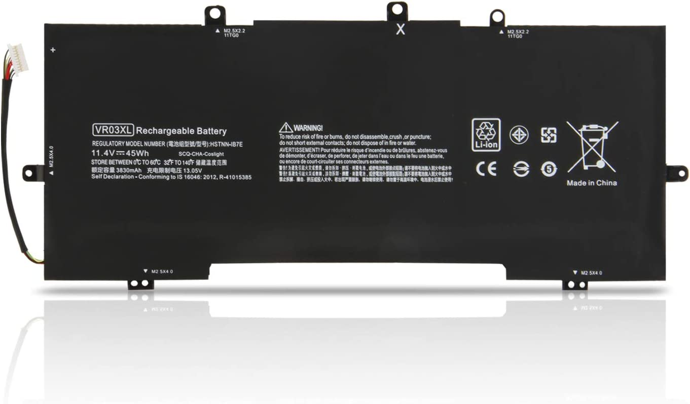 Binger New VR03XL Replacement Laptop Battery Compatible with HP Envy 13-D 13-D046TU 13-D025TU 13-D024TU 13-D051TU 13-D056TU Series Laptop 816497-1C1 HSTNN-IB7E
