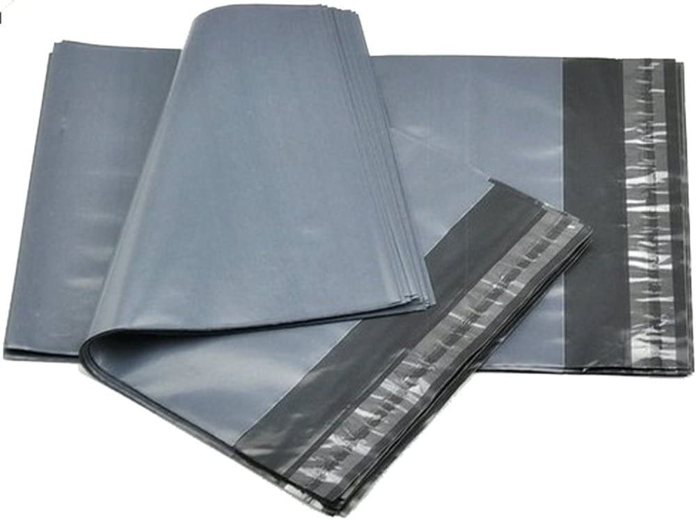 """Grey Mailing Bags Strong Parcel Postage Plastic Post Poly Self Seal 10 x 14/"""""""