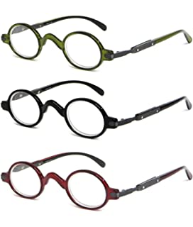 df81f05f5333 Calabria R314 Vintage Professor Oval Reading Glasses Incredibly Lightweight