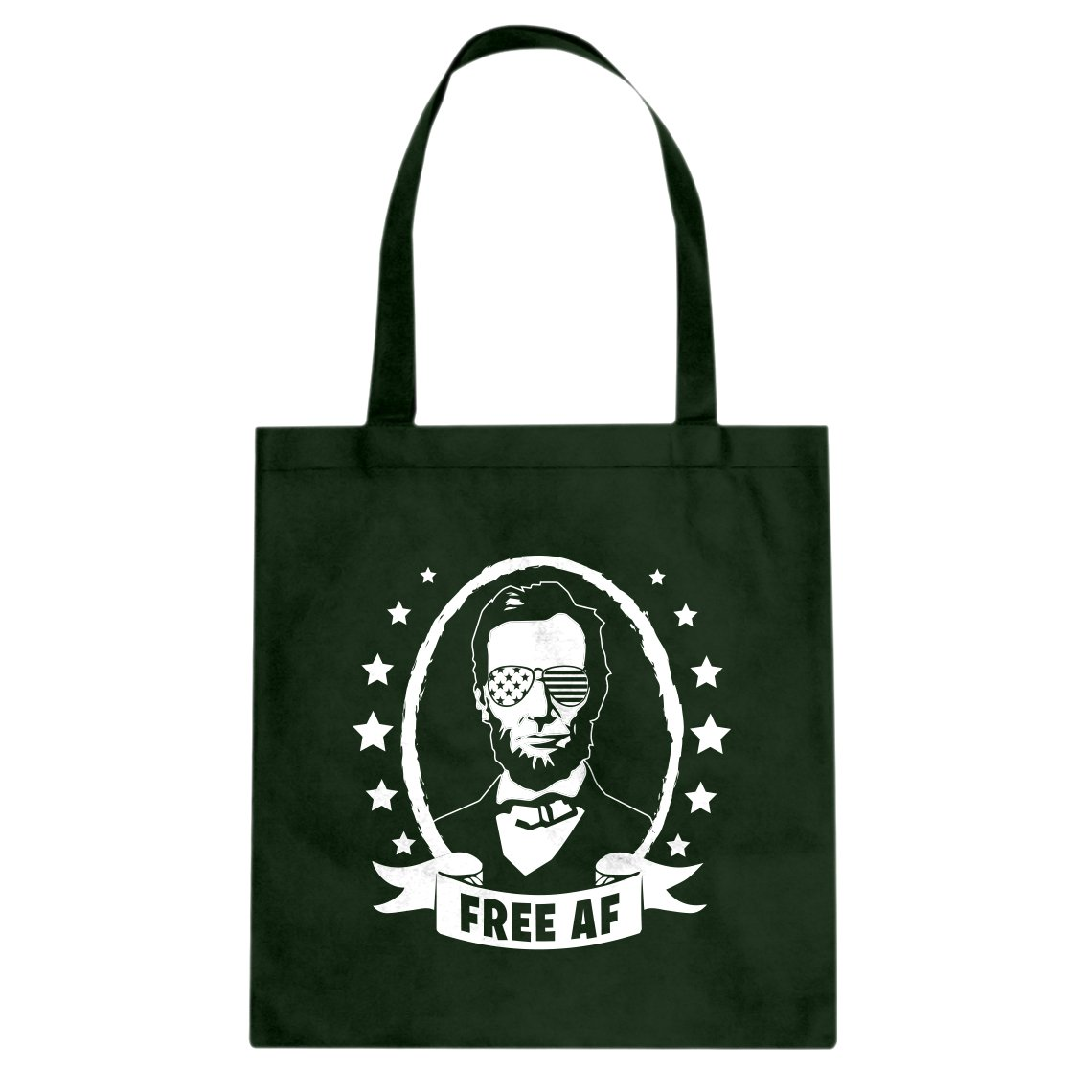 Indica Plateau Free AF Cotton Canvas Tote Bag