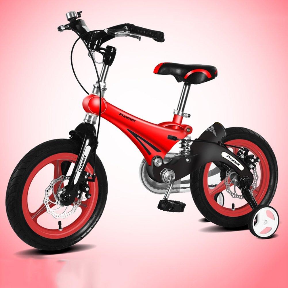 XQ 赤い子供の自転車3-13歳の少年少女マグネシウム合金ダンピングキッズバイク 子ども用自転車 ( サイズ さいず : Length-93cm ) B07C2MPNQZ Length-93cm Length-93cm