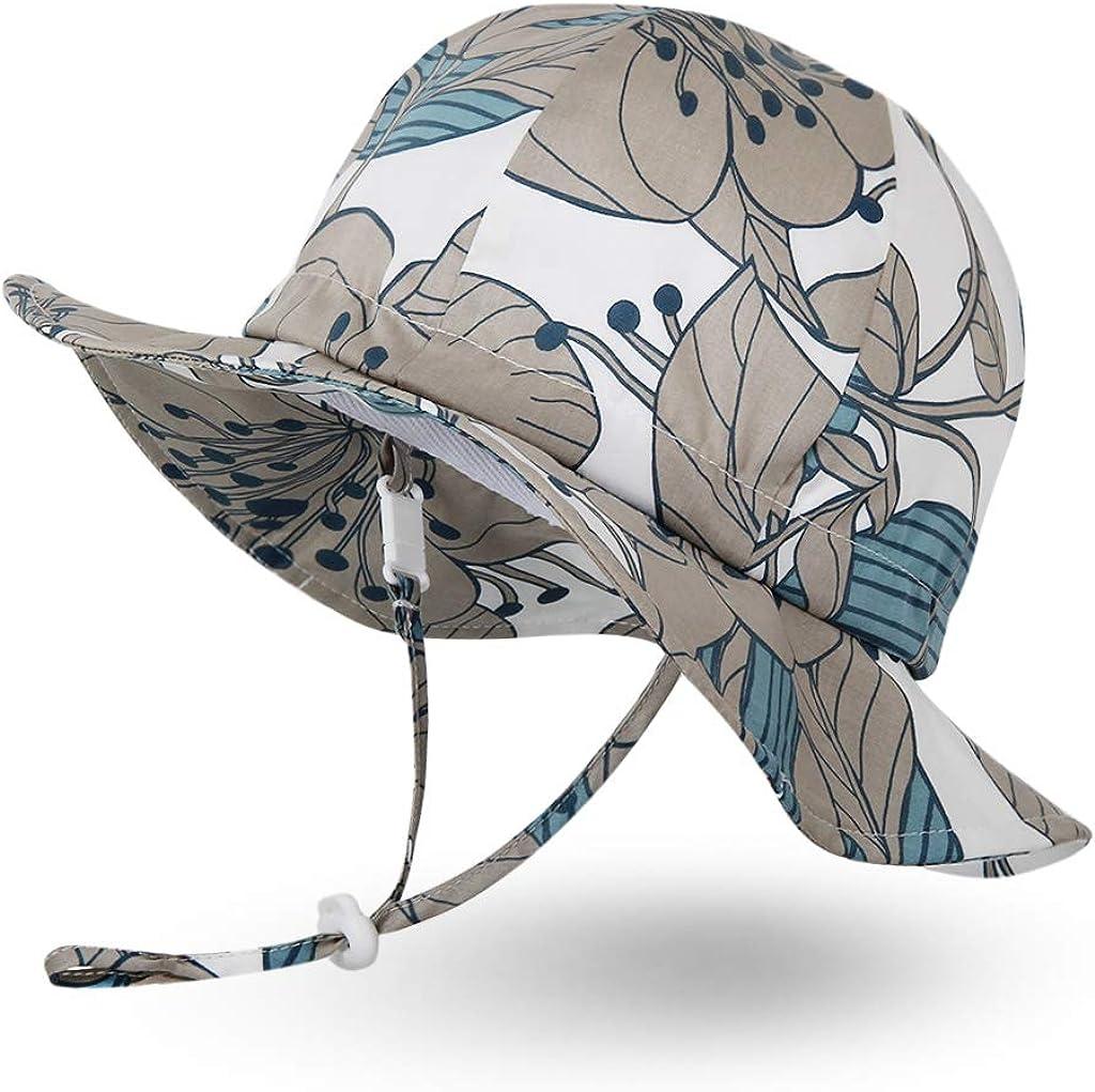 Ni/ñas Ni/ños Infantil Peque/ñito Unisexo Ami/&Li tots Ni/ño Sombrero de Sol ala Ancha Ajustable Sombrero Protecci/ón Solar UPF 50 para Beb/és