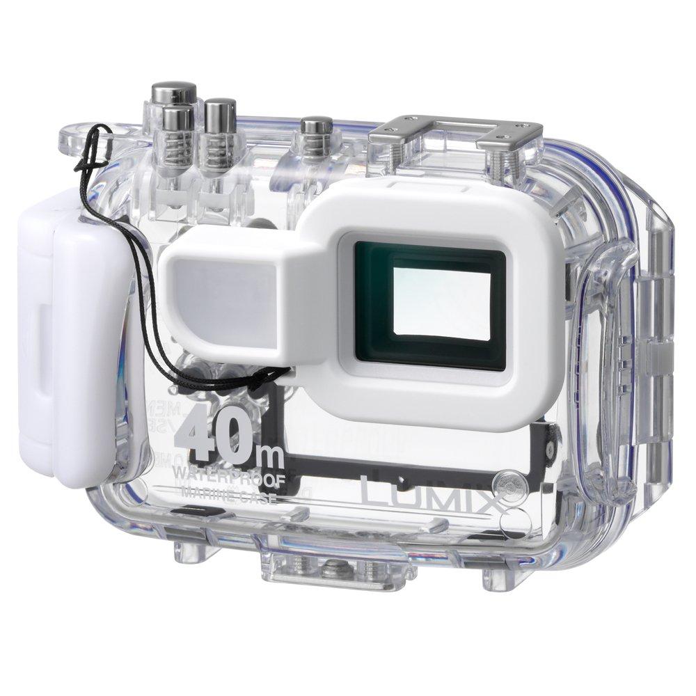Panasonic dmw-mcft2 Marine Case for Lumix DMC -選択カメラ(ホワイト/クリア)   B003ULV6UO