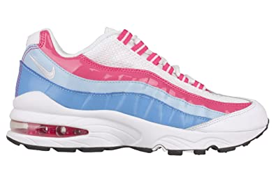 qjdyd Nike Air Max 95 LE Grade School MULTI Youths Trainers Size 6 UK
