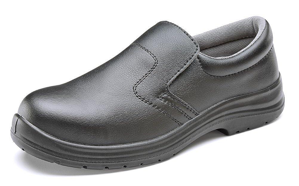 Chaussures de sécurité B-Click B-Click sécurité Footwear en microfibre - noir 12 UK|noir 0d09d0