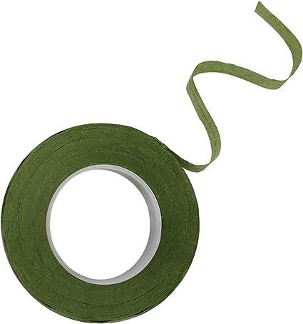 Nastro Colorato DECORA Nastro di Carta per Steli 12 mm x 27 m Verde Chiaro