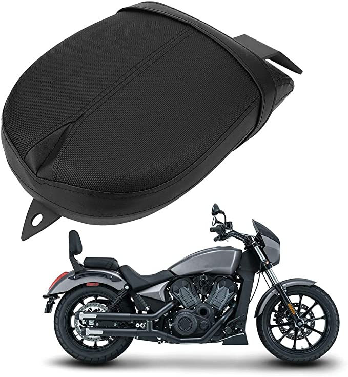 D KIMISS Motorcycle Suction Cup Rear Pillion Passenger Pad Seat Six Choices