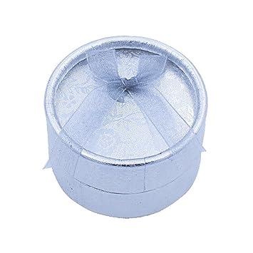 Emorias - 1 caja de joyería de plástico exquisita, caja de anillo creativa, caja para pendientes, joyería, caja de regalo para compromiso, ...