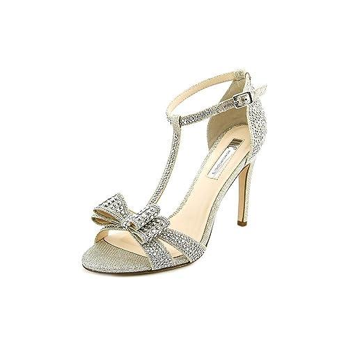 b59990b1b52 INC International Concepts Women s Reesie Rhinestone Bow Evening Sandals   Amazon.ca  Shoes   Handbags