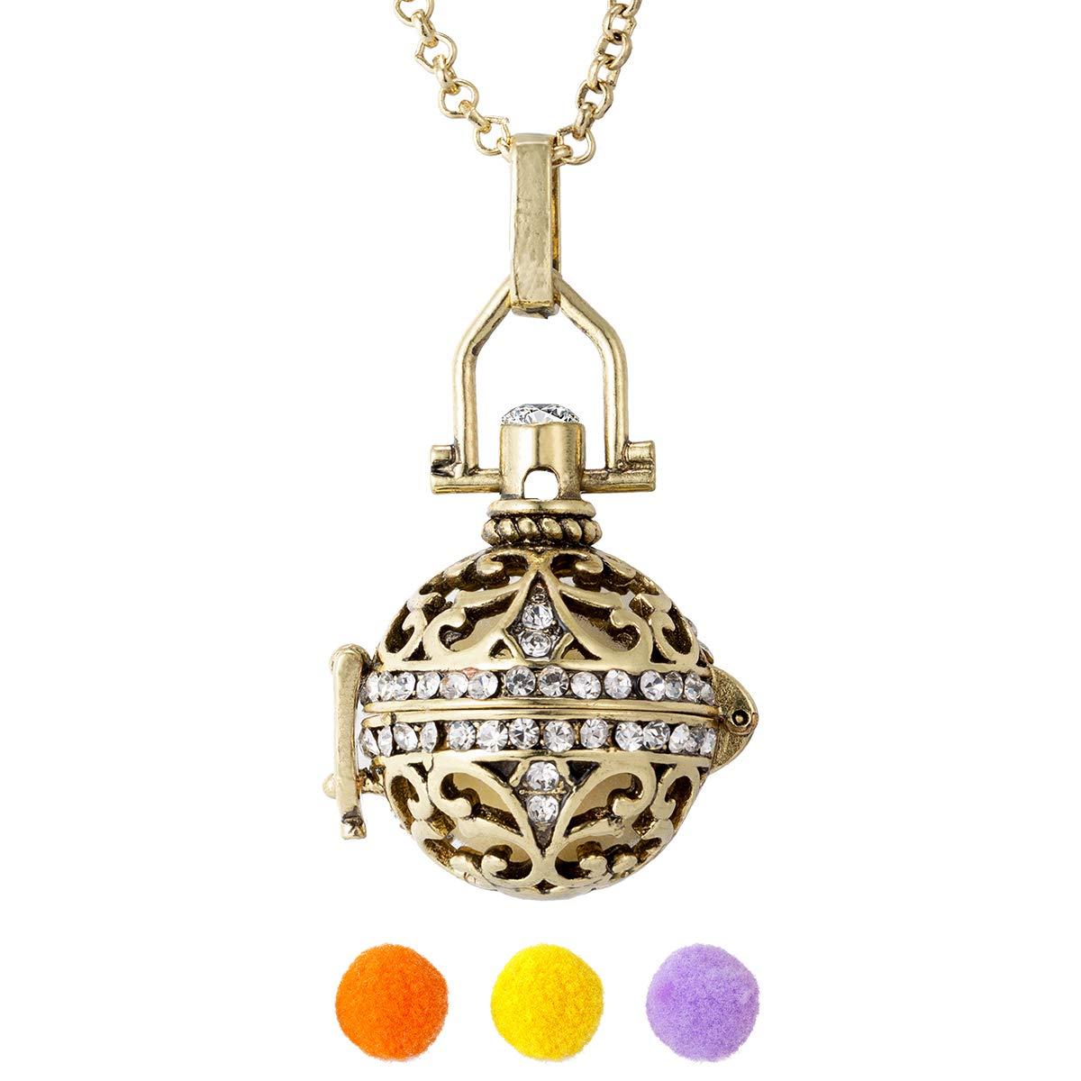 Amazon.com: Vintage Fragrance Lava Stone Necklace