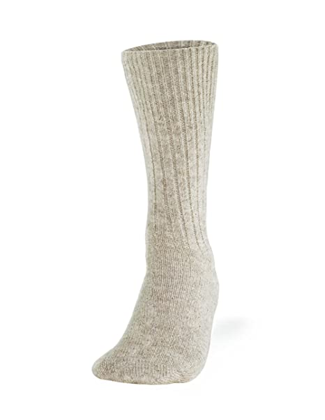 Amazon.com  Cleverbrand Inc. 100% Pure Wool Socks - Women fefb5d2b5d