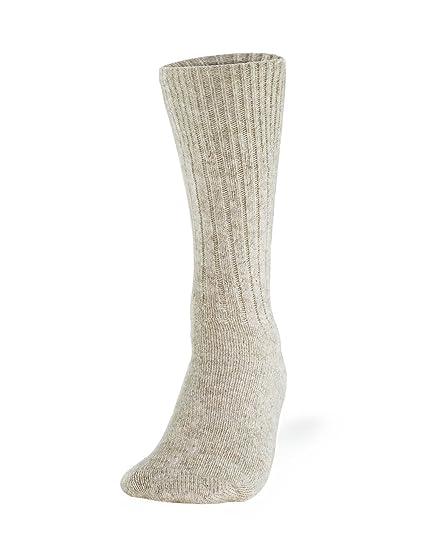 757ea2e0fb6 Amazon.com  Cleverbrand Inc. 100% Pure Wool Socks - Women
