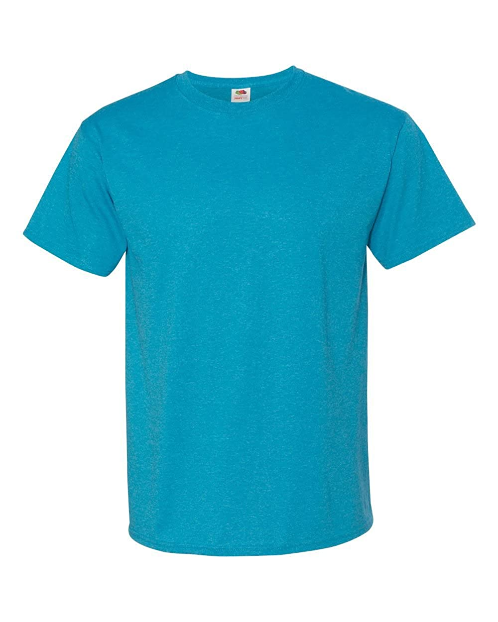 100/% Heavy Cotton HD T-Shirt Fruit of the Loom Mens 5 oz Pack of 6