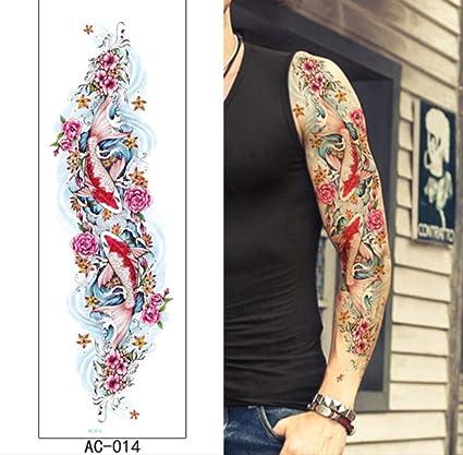 yyyDL Pegatinas de tatuaje impermeables seguras y no tóxicas Gran ...