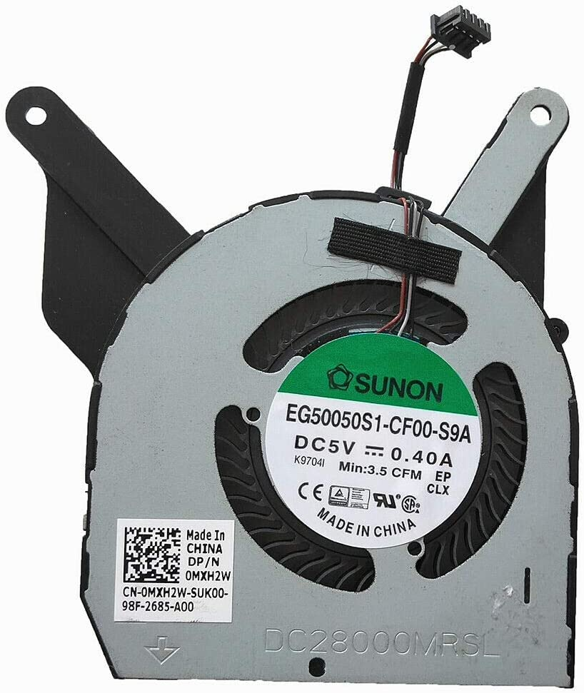 New Laptop CPU Cooling Fan for Dell Latitude 5400 P/N: EG50050S1-CF00-S9A 0MXH2W MXH2W