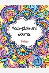 Accomplishment Journal Diary