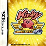 Kirby - Super Star Ultra DS Instruction Booklet (Nintendo DS Manual ONLY - NO GAME) Pamphlet - NO GAME INCLUDED