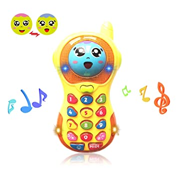 Toys Phone For 6 Months Old Boys Girl Toy 1 Year Baby