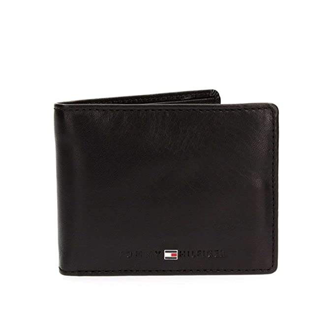 Tommy Hilfiger - Icons Mini - Monedero - Black: Amazon.es ...