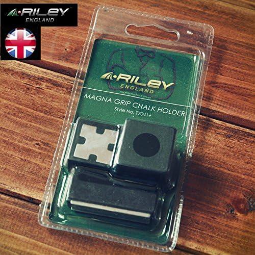 Riley Magna Grip Magnetic Chalk Holder with Belt Clip for Snooker