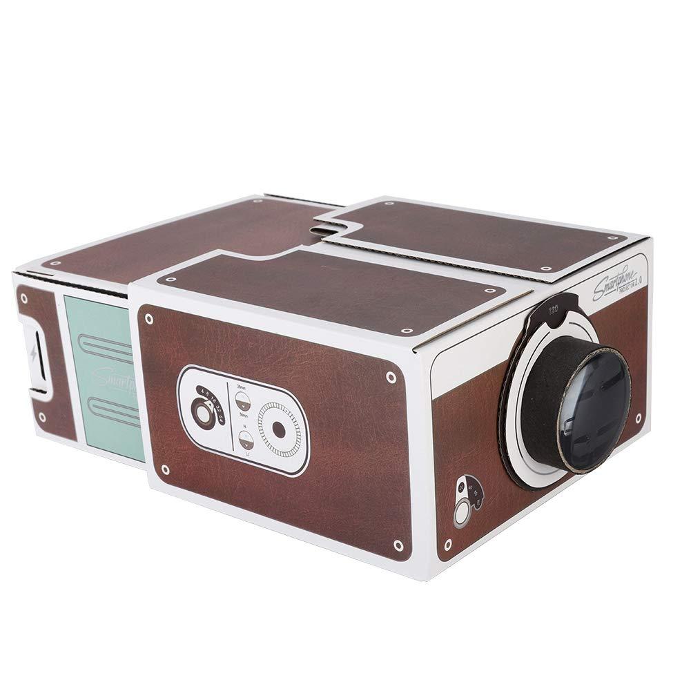 Simlug Mini proyector de Bricolaje, Uso de proyectores de Video ...