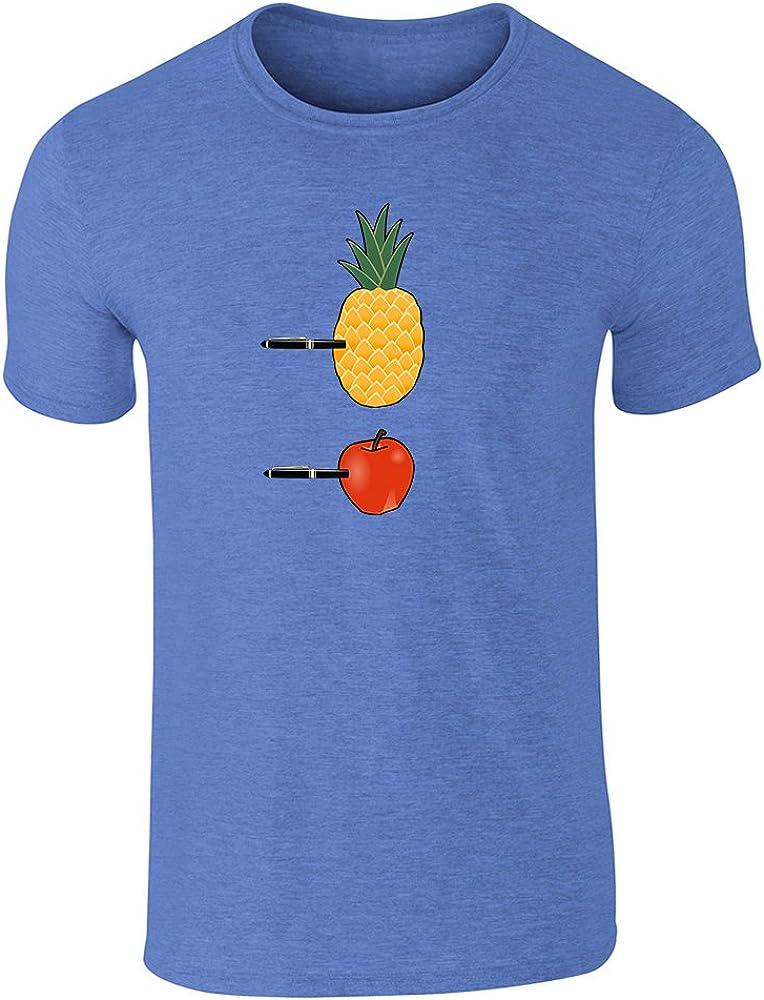 PPAP Pen Pineapple Apple Pen Meme Song Graphic Tee T-Shirt for Men