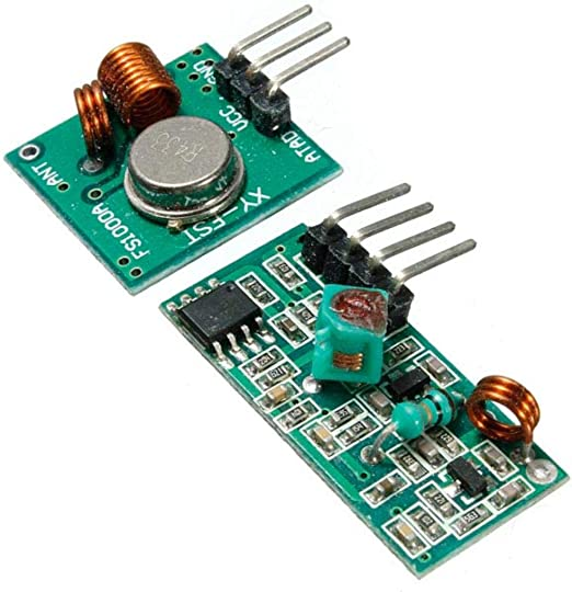 5x 433Mhz RF transmitter and receiver kit Module Arduino ARM WL MCU Raspberry To