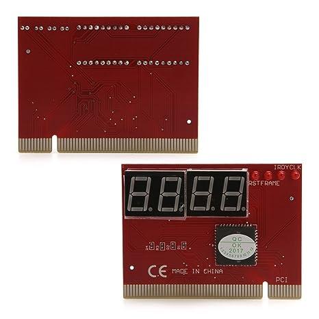 Forgun PC 4 dígitos analizador de diagnóstico tarjeta placa base ...