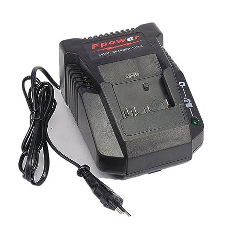 Cargador para Batería Bosch, de 10,8 V de 18 V, sustituir al ...