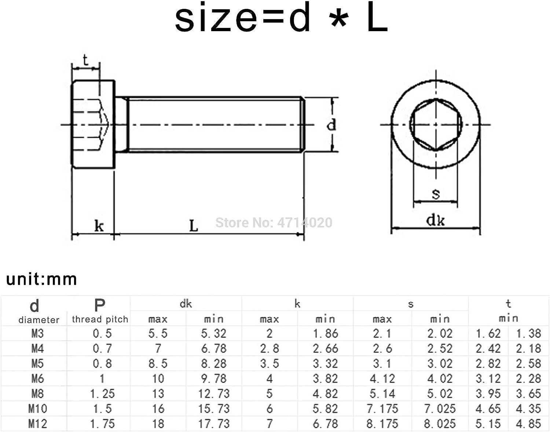 M8 M10 M12 304 Stainless Steel Hex Hexagon Socket Ultra Thin Super Low Flat Wafer Head Allen Cap Screw Bolt 50pcs
