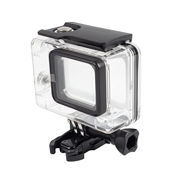 Segolike Water Resistant Removable Housing Case for Gopro Hero 5 Sports Camera (Transparent) Cameras & Photography at amazon
