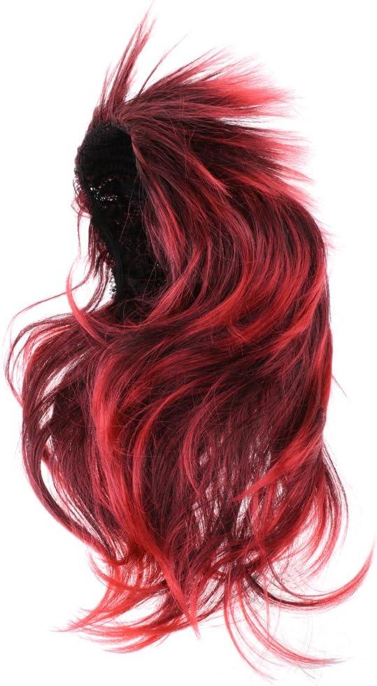 Magideal peluca cabello para disfraz Décor peluca punk rock ...