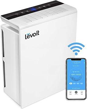 Levoit Purificador de Aire WiFi Inteligente con Filtro HEPA, Hasta 55 m², Temporizador, Monitor de Calidad del Aire, Modo Automático, Capturar Alergias, Tabaco, Olor, Caspas de Mascotas, LV-PUR131S: Amazon.es: Bricolaje y herramientas