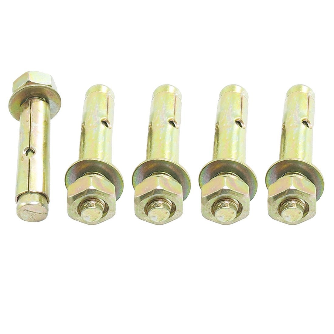 5 Pieces 70 mm M10 Hexagonal nut Expansion Bolt Anchor Tool