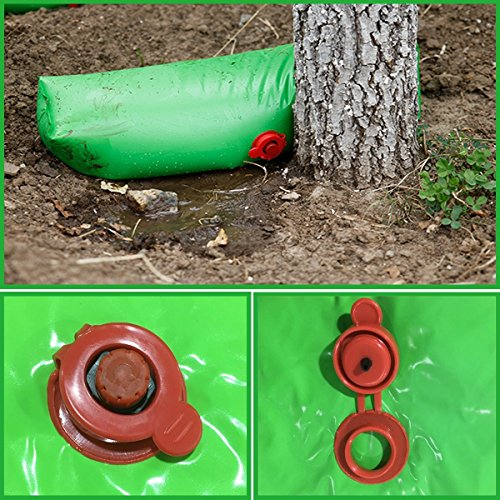 Drip Shrub - ASSR 2Pack Plant Watering Bag, Portable Slow-Release Automatic Drip Irrigation Drip System Garden Watering Bags for Trees and Shrubs