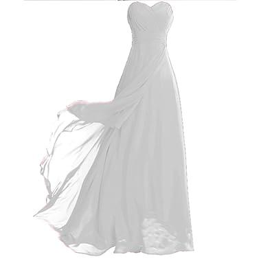 FAIRY COUPLE Chiffon Strapless Bridesmaids Dress D0072