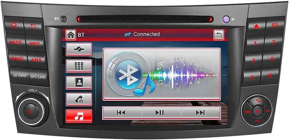 A Sure Autoradio Für Mercedes Benz W211 W219 W463 E Klasse C Klasse Dvd Gps Navigation Bluetooth 7 Usb Micro Sd Vmcd Dab Mirrorlink Ztbecq Wince System Navigation