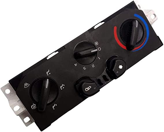 RANSOTO Temperature Heater and Air Conditioning A//C Control Panel Compatible with 2004-2012 Chevrolet Colorado GMC Canyon,Replace # 25841856 15-73870