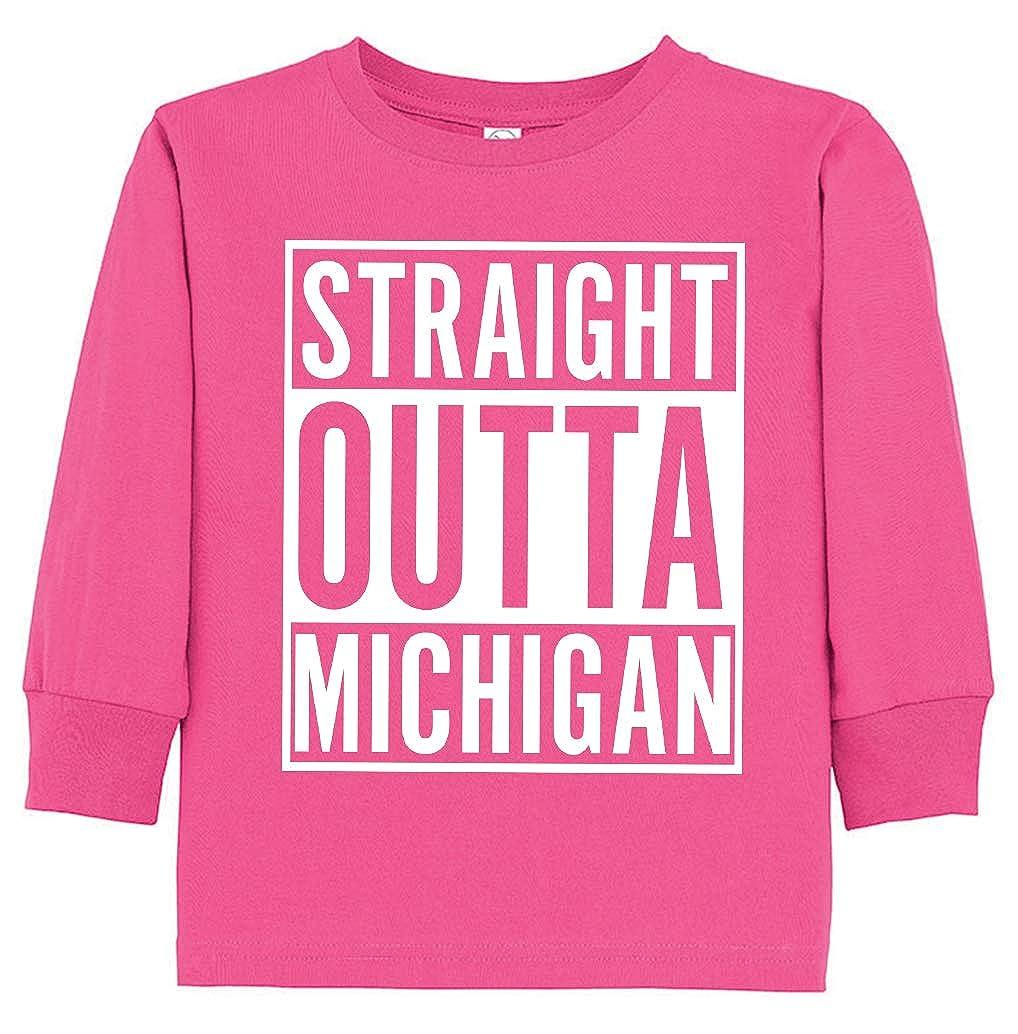 Tenacitee Babys Straight Outta Michigan Shirt