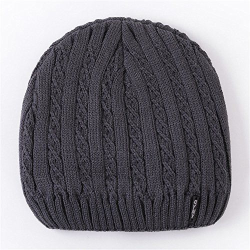 de viento MASTER Sombreros engrosamiento tapas calientes hombres jóvenes cabeza engrosada Navidad winter beanie Las tejidos sombreros negro Gray exterior tapas Dark Halloween Sombreros de wxvZrwY