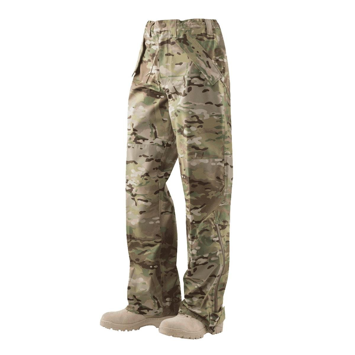 Tru-Spec Men's H2o Proof ECWCS Camo Trousers Camouflage Small
