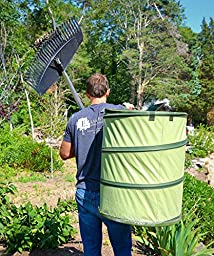 Fiskars 30 Gallon HardShell Bottom Kangaroo Garden Bag