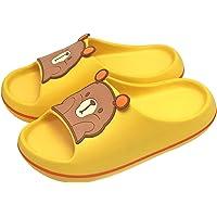 KRONJ Niño Niña Sandalias y Chanclas de Oso, Zapatos de Ducha Playa y Piscina, Talla 26-36