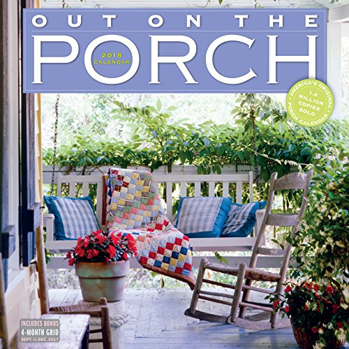 Out on the Porch Wall Calendar 2018 cover