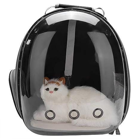 Zerodis Mochila Transparente para Mascotas Perros Gatos, con diseño de Burbuja Transpirable 360