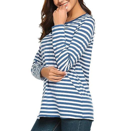 3227f7efd845f Vectry Camisetas Mujer Camisetas Mujer Originales Camiseta Rayas Mujer  Camiseta De Rayas Mujer Camiseta Manga Larga Mujer Mujer Blusa Rayas Mujer  Camisetas ...