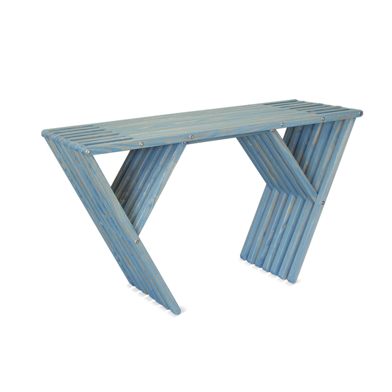 GloDea X90 Patio Side Table, Light Sky Blue by GloDea